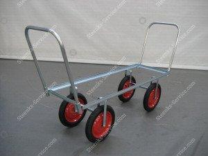 Airwheel harvesting trolley steel