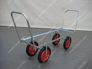 Airwheel harvesting trolley steel