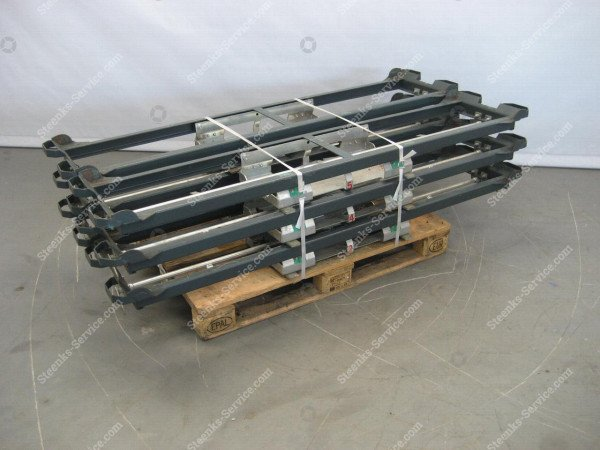 Pepper bottom unload. con.slidable rack