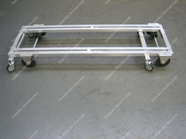 Transport trolley with brake aluminum | Image 2
