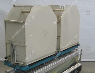 Paprika Trichterentladen Container und | Bild 2