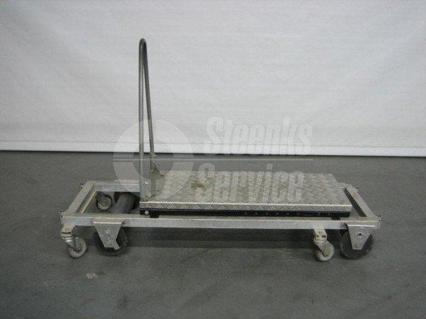 Transportwagen met rem aluminium | Afbeelding 5