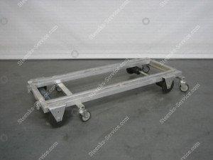 Transportwagen + Bremse Aluminium