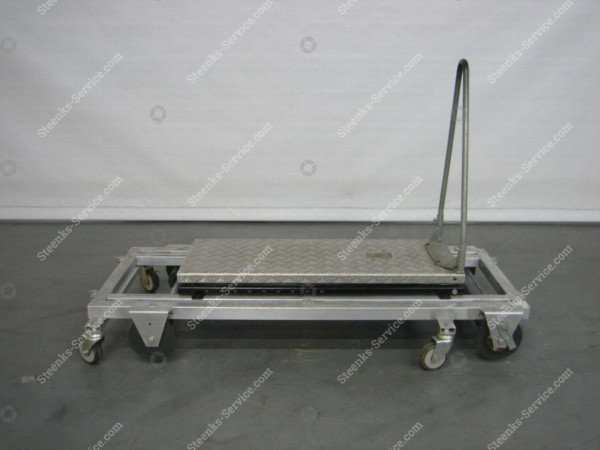Transportwagen met rem aluminium | Afbeelding 6