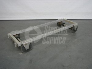Transport trolley aluminium