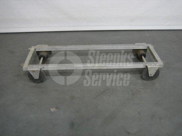 Transportwagen Aluminium | Afbeelding 3