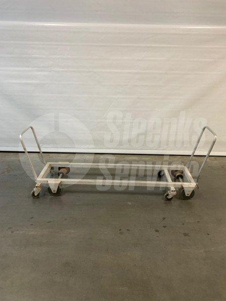 Transport trolley aluminium 187 cm.   Image 2