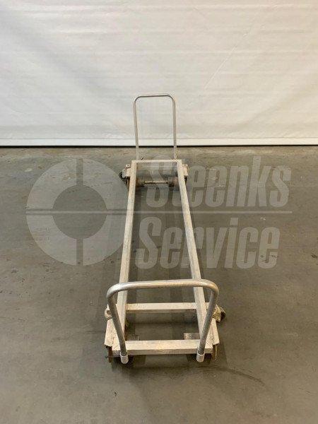 Transport trolley aluminium 187 cm.   Image 3