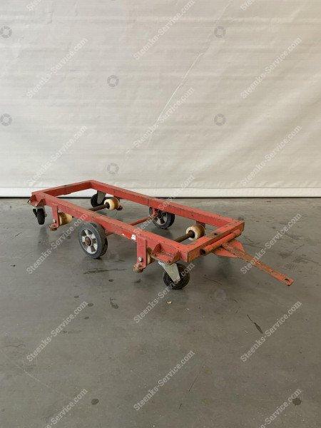 Stahlen Transportierwagen