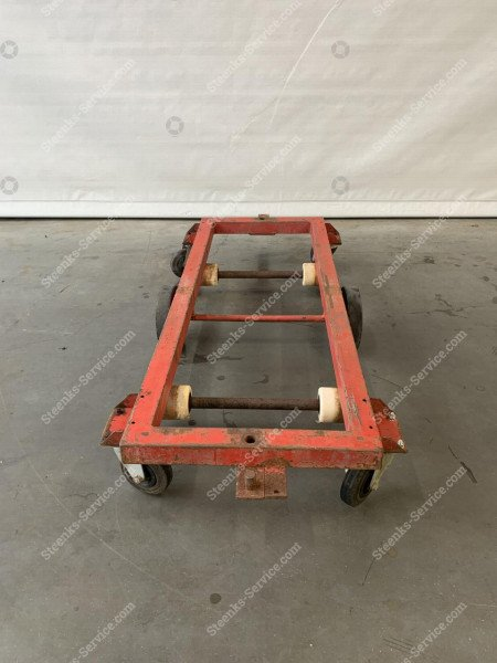 Steel transport trolley | Image 4