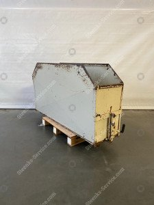 Paprika onderlos container