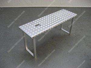 Opzetplateau aluminium