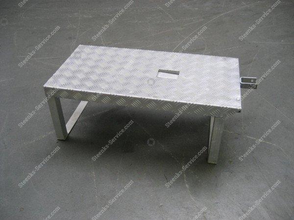 Lift platform aluminium