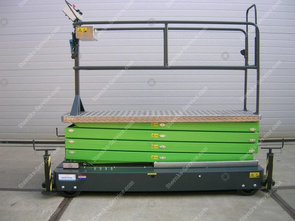Pipe rail trolley Greenlift GL6400 | Image 2