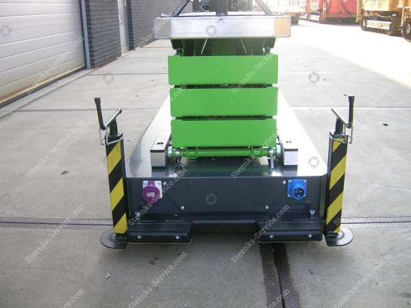 Pipe rail trolley Greenlift GL6400 | Image 3