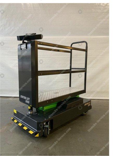 Buisrailwagen Control Lift 3000 | Afbeelding 2