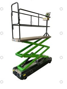Pipe rail trolley Greenlift GL3500