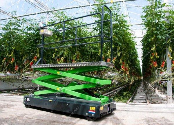 Buisrailwagen Greenlift GL3500   Afbeelding 2