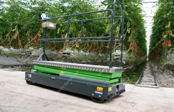 Rohrschienenwagen Greenlift GL3500   Bild 3