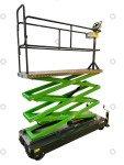 Pipe rail trolley Greenlift GL5000