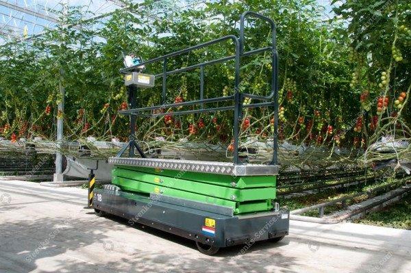 Buisrailwagen Greenlift GL5000   Afbeelding 3