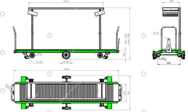 ErntewagenTomaten Greencart THC-L   Bild 8