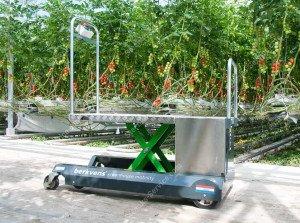 Leaf picking trolley Greencart LPC