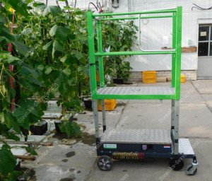 Pipe rail trolley Greenlift GLE3000