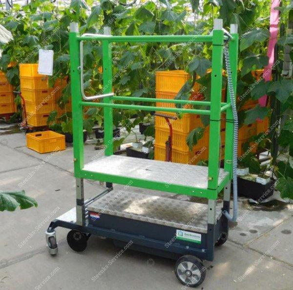 Buisrailwagen Greenlift GLE3000   Afbeelding 3
