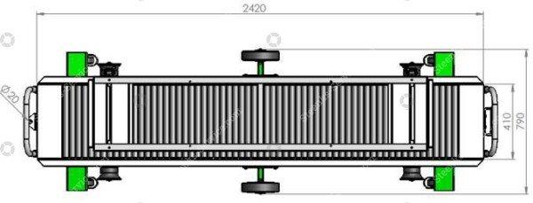 Erntewagen Strauchtomaten Greencart THCH   Bild 3