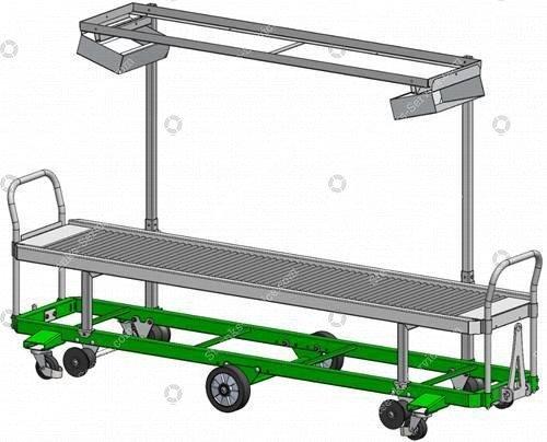 Erntewagen Strauchtomaten Greencart THCH   Bild 4