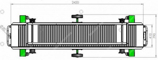 Erntewagen Strauchtomaten Greencart THCH   Bild 6