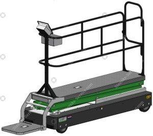 Platform reducer GL3500