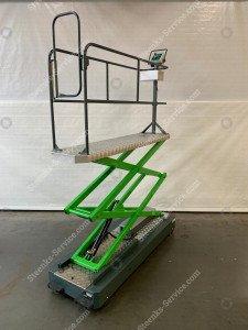 Pipe rail trolley B550-3000 Berkvens