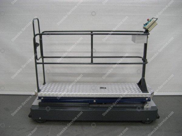 Buisrailwagen B550-3000 Berkvens   Afbeelding 3