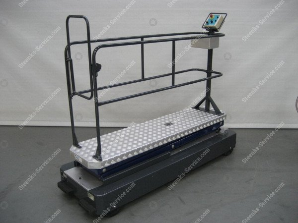 Pipe rail trolley GL3000-550 Berkvens | Image 2