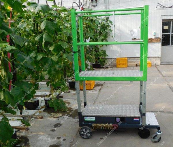Rohrschienenwagen Greenlift GLE3000