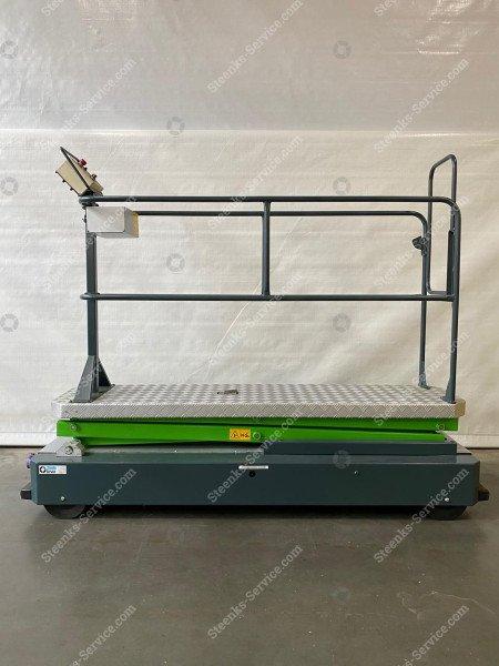 Buisrailwagen GL3000-550 Berkvens   Afbeelding 4