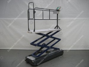 Pipe rail trolley GL3000-550 Berkvens