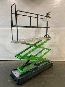 Pipe rail trolley Berkvens GL3000-550