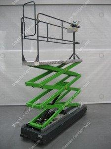 Pipe rail trolley Berkvens B550-5000