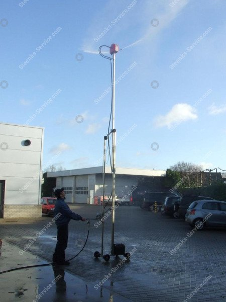 Cassotti spray mast