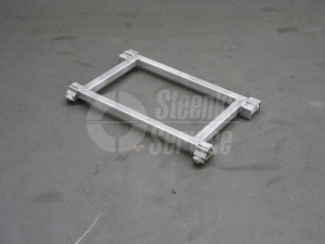 Sitting pipe rail trolley
