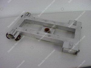 Sitting pipe rail trolley