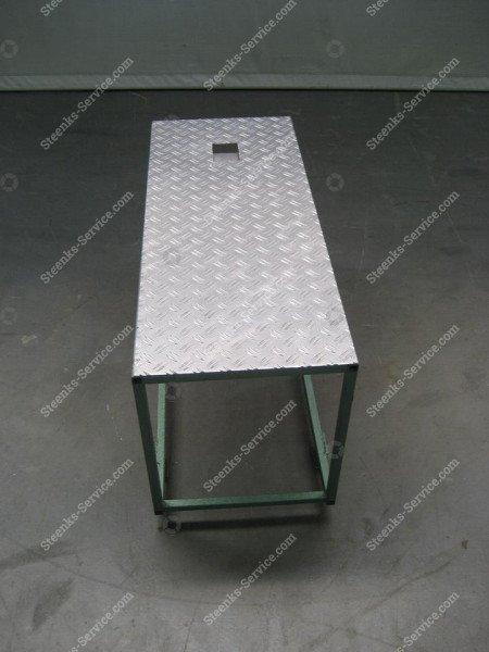 Erhöh Plattform Stahl | Bild 2
