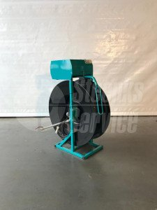 Opbouw slanghaspel met snelwisselset