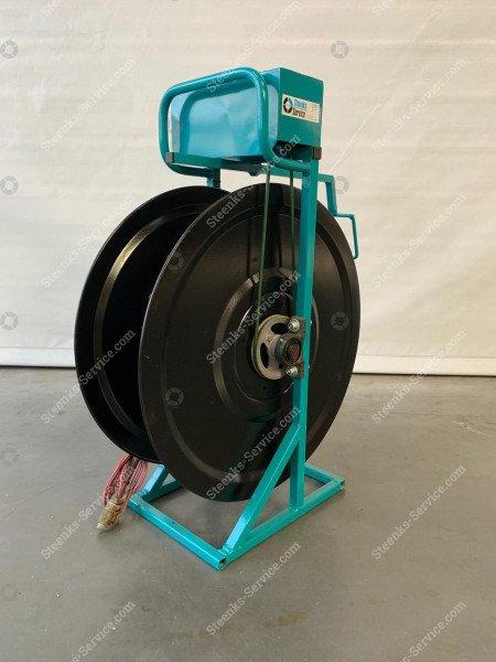 Electric hose reel 100 mtr. 1/2