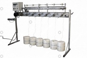 Tomato hook winding machine