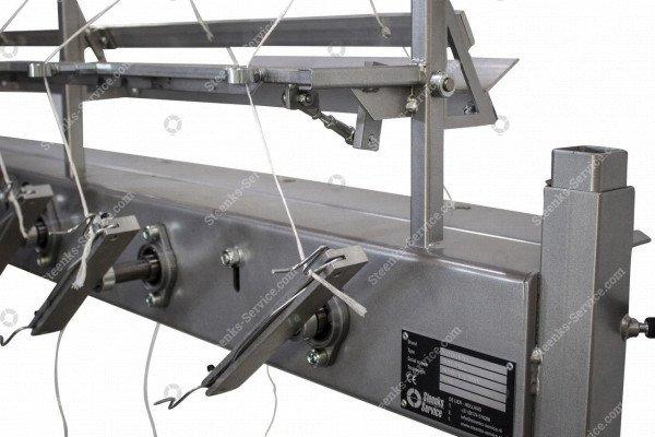 Tomaten hakenaufwicklung Maschine | Bild 5