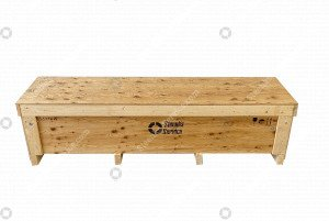 Hakenaufwickler pallet export box